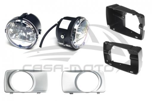 Scheinwerfer Nachrüstsatz LED für Ape 50 Modelle Bj. 98 - 2017