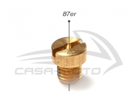 Vergaserhauptdüse M5 - 36 bis 138 für Ape 50 / Vespa 50 / V / ÜK M5x87