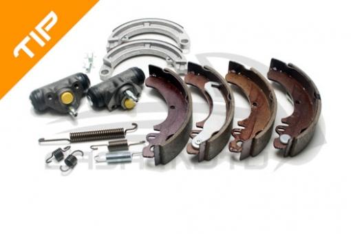 Bremsen Überholungspaket komplettes Kit  für Ape 50 TL2T - ZAPC80