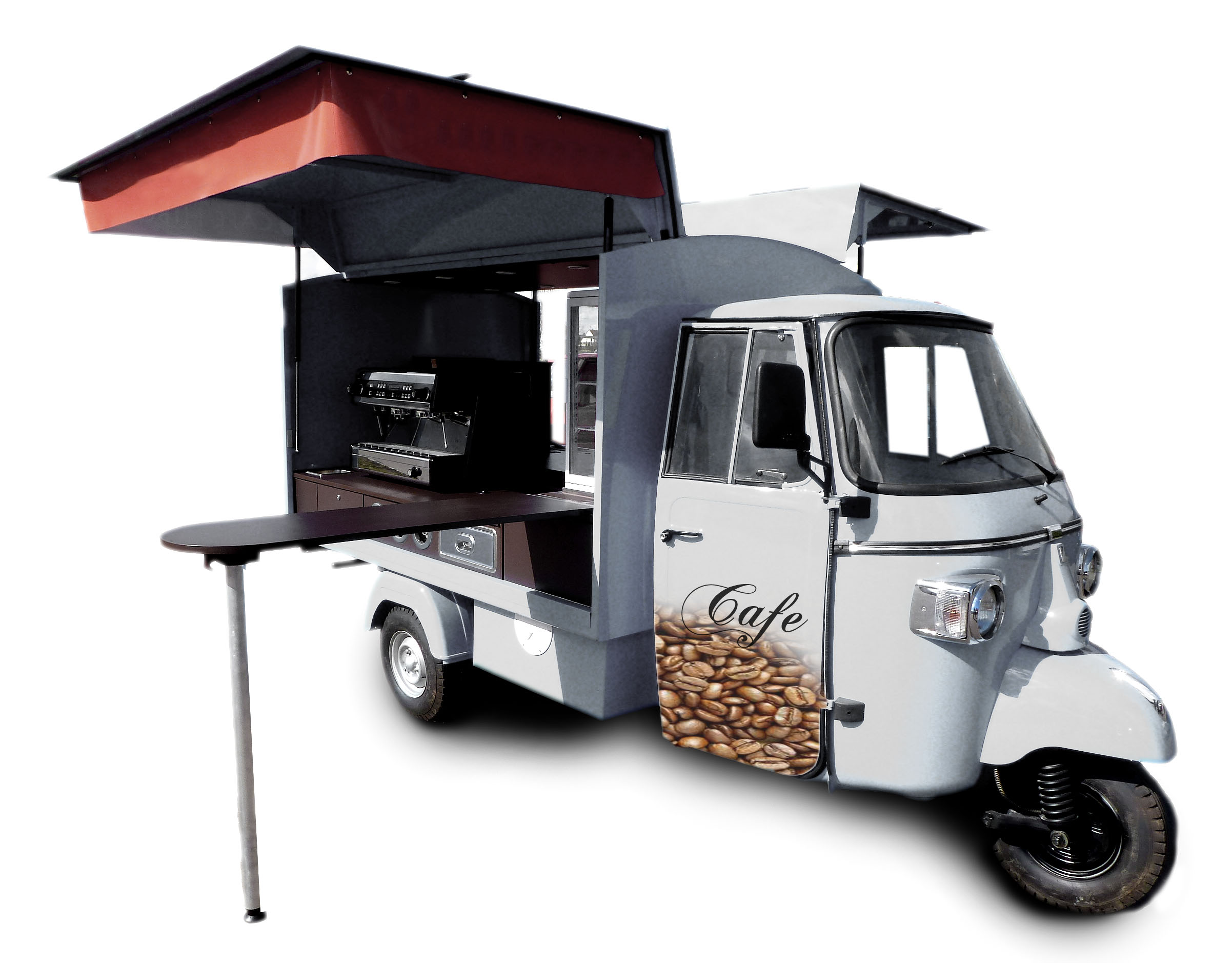 piaggio ape classic barista kaffeemobil casa moto shop. Black Bedroom Furniture Sets. Home Design Ideas