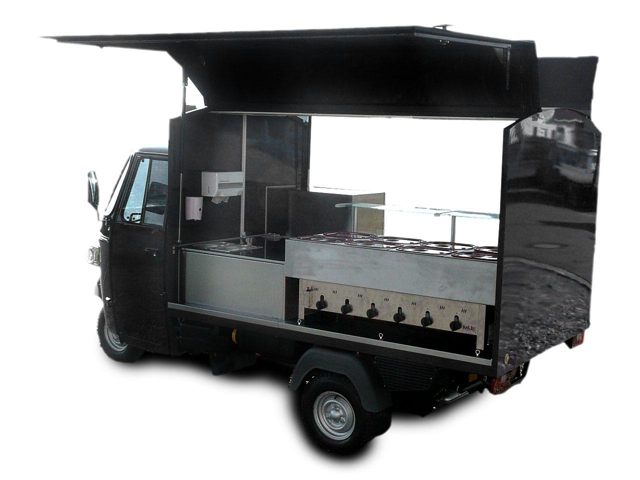 piaggio ape classic warme theke casa moto shop. Black Bedroom Furniture Sets. Home Design Ideas