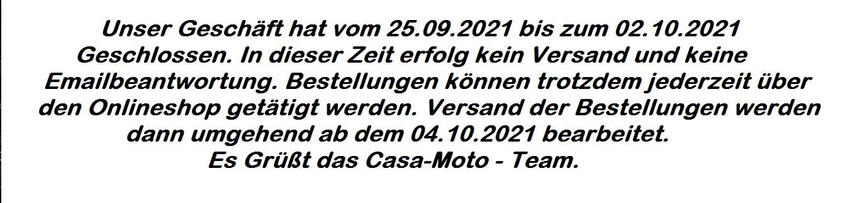 Urlaub 25.09.2021